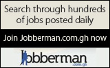 Search all jobs in Ghana