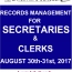 SECRETARIES' WORKSHOP