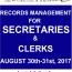 SECRETARIES' WORKSHOP