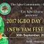 2017 IGBO YAM FESTIVAL
