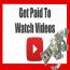 Watch Videos Get Paid