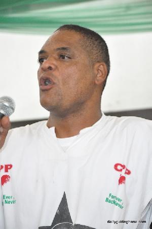 Gen Sec Ivor Kobina Greenstreet CPP