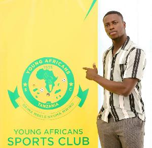 Ghanaian striker, Michael Sarpong