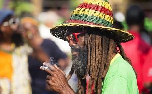 Dreadlocks is a symbol of priesthood for Rastafarians