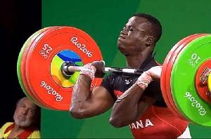 Ghanaian weightlifter, Christian Amoah