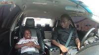 Yaw Dabo on Celebrity Ride with Zionfelix