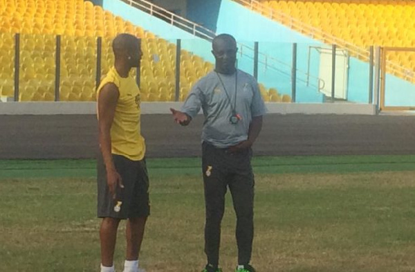 Our first day training was calm and less intensive - Coach Kwasi Appiah