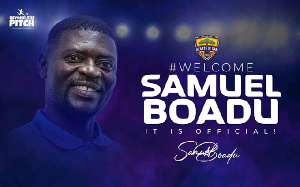 I have opened a new chapter in my life with Hearts of Oak - Samuel Boadu