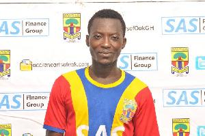 Kofi Abanga,  Ex-Hearts of Oak midfielder