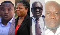 L-R: Saani Daara, Leanier Addy, Eddie Doku and Abdul Lawal