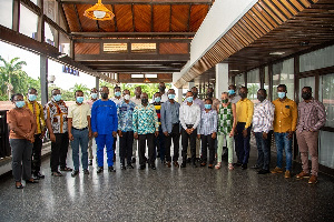 15 staff from the renewable energy and energy efficiency departments of ECG, NEDCO have been trained