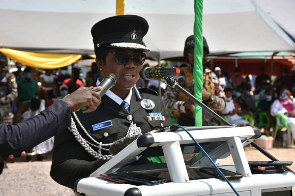 Police Service not a place for unjustified wealth – Maame Tiwaa warns recruits