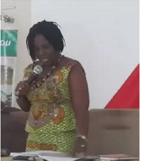 Felicia Dapaah, Municipal Coordinating Director of Ga-West