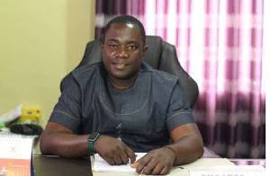 Hon. Andrew Adu Boahen, District Chief Executive (DCE) of Adansi Asokwa
