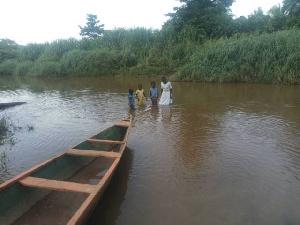 Crossing Of River