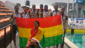 Ghana presented two swimmers at the recent Tokyo 2020 Olympic Games