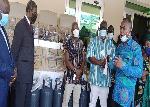 Barima Kwaku Duah donates to Kyebi Presbyterian College of Education
