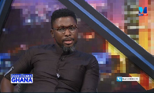 Kwame A-Plus is a social commentator