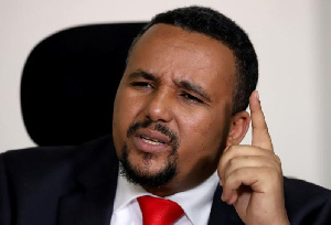 FILE PHOTO: Jawar Mohammed, an Oromo activist and leader of the Oromo protest