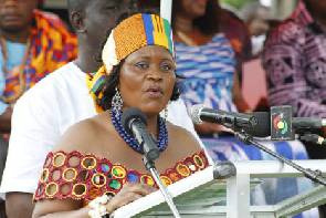 Helen Adjoa Ntoso, The Member of Parliament (MP) for Krachi West