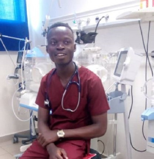 Dr. Douglas Antwi was rejected by KNUST and UG