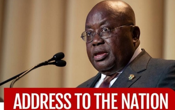 Fellow Ghanaians, Prez Akufo-Addo has not addressed the nation on coronavirus for two months