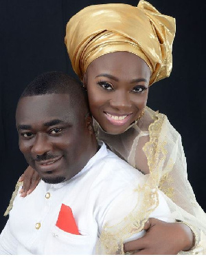Stacy and husband Okyeame Quophie