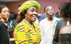 Nana Konadu Agyeman Rawlings Smile