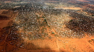 The Dadaab and Kakuma refugee camps have majority of Somalis escaping chaos back home