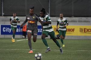 Ghanaian forward Asumah Abubakar