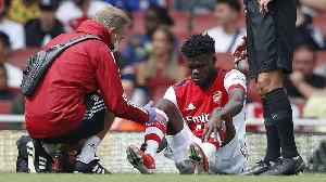 Arsenal midfielder, Thomas Partey