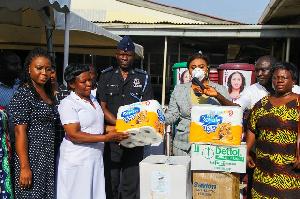 Adwoa Safo Donates