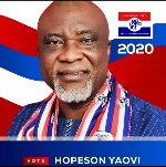 Hopeson Yaovi Adoy, NPP Parliamentary candidate for Kpone-Katamanso