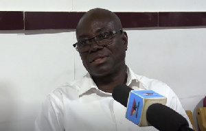NDC Aspirant for the constituency, Mr. Delali Kwasi Brempong