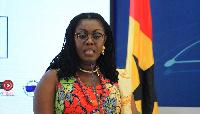 Minister of Communication, Ursula Owusu-Ekuful