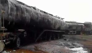 BOST depot at Buipe got burnt on Friday