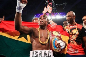 Dogboe will face Emanuel Naverette of Mexico on Saturday