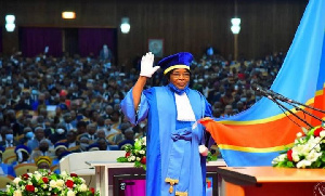 Alphonsine Asengo Cheusi was selected from the quota of the Superior Council of the Magistracy