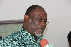 Dr Ekwow Spio-Garbrah, Minister of Trade