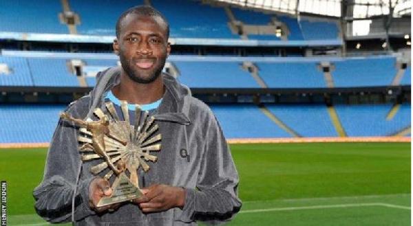 Yaya Toure won league titles with Manchester City