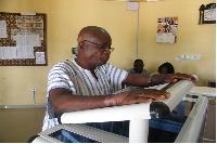 Mr John B. Ninson, Municipal Chief Executive for Effutu (MCE)
