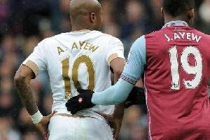 Andre Ayew vs. Jordan Ayew