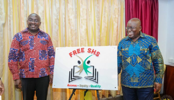 Free SHS quickens the pace of development all round – Akufo-Addo