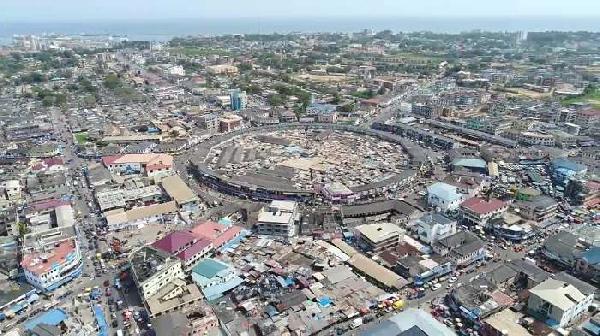 Tarkoradi Market Circle