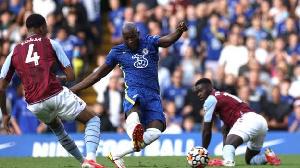 Romelu Lukaku (sakiya), dan wasan gaba na Chelsea