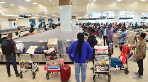 The strike resulted in huge queues at the various airports as most passengers are stranded