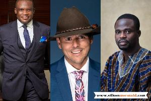 Sam George, Gregory Andrews and Manasseh Azuri Awuni