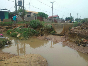 Residents suffer whenever it rains because of the uncompleted drainage system