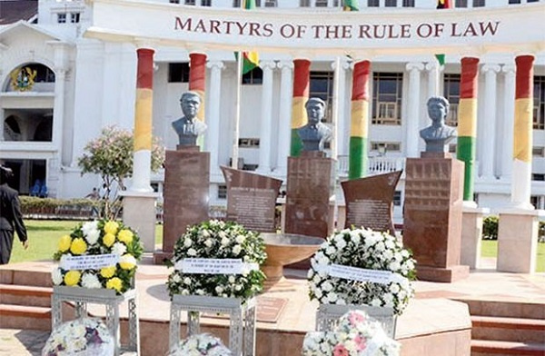 Memories of the three high court judges shall endure because they are part of the country