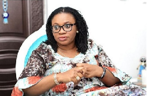 Charlotte Osei is Chairperson Electoral Commission